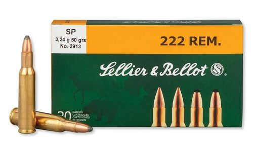 Sellier and Bellot 222 Rem 50 Grain SP (20)