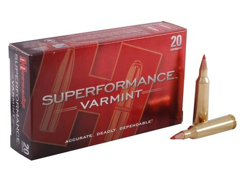 Hornady 22-250 Rem 50 Grain VMAX Superformance (20)