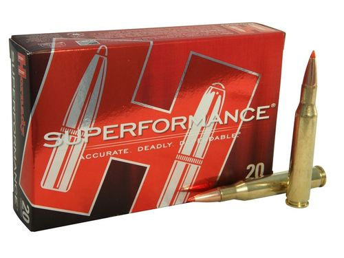 Hornady 7mm Rem Magnum 162 Grain SST Superformance (20)